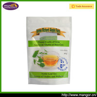 Vivid Printing Clear Round Bottom Plastic Tea Cheap Zipper Bags