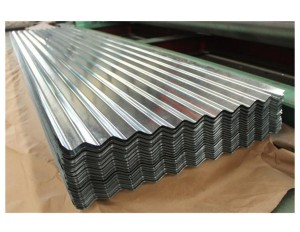Customized Galvanized Corrugated Iron Roofing Sheet Price