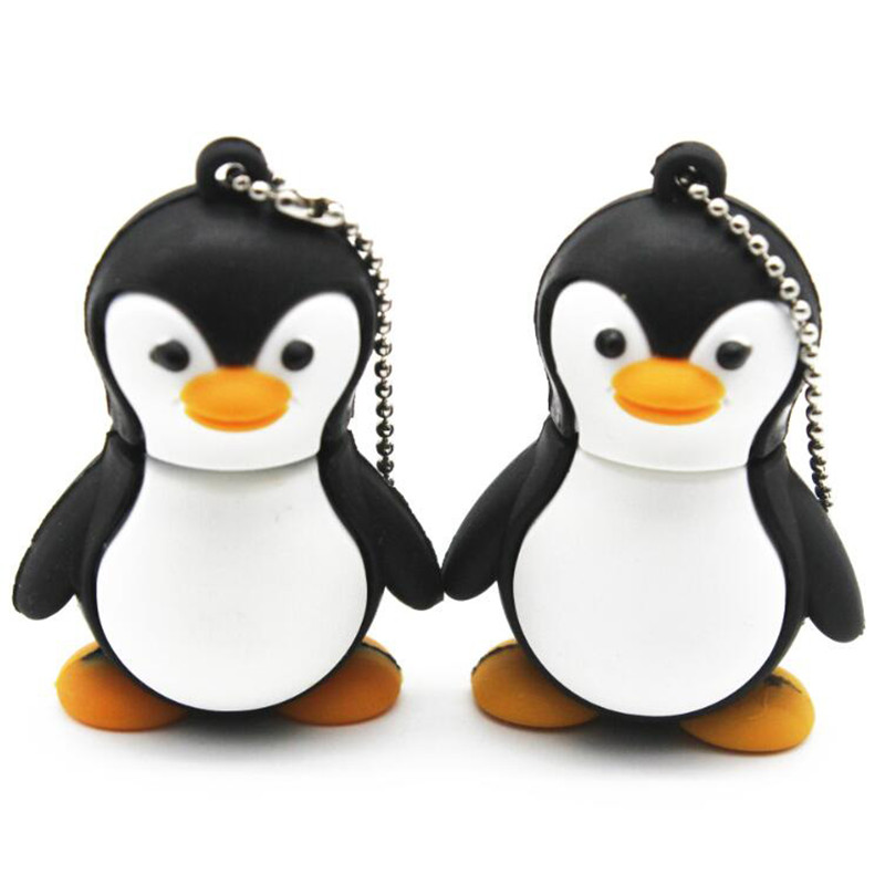 animal 8 GB USB 2.0 Flash Drive, Penguin
