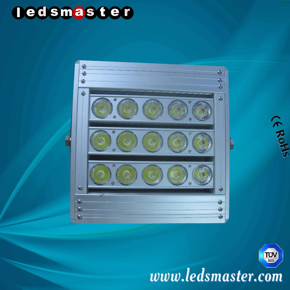 CE RoHS ETL TUV certified IP68 180 lux 100w led flood light with precise optical lens