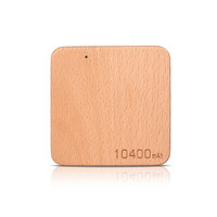 New Products Unique Design Slim real Wooden material power bank 10000mAh