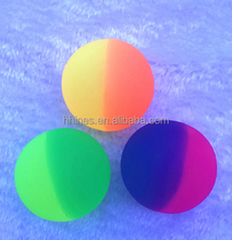 colorful bright solid 27mm 32mm 45mm 49mm bouncy ball various design wholesale option eyeball high rubber bouncing ball