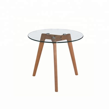 Minimalism Hotel Furniture Modern Small Round Gl Coffee Tables Table Teapoy Side Product On