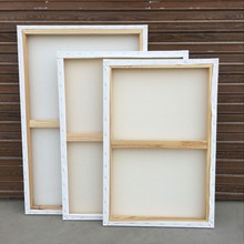 Gallery large canvases blank stretched canvas with wood frame