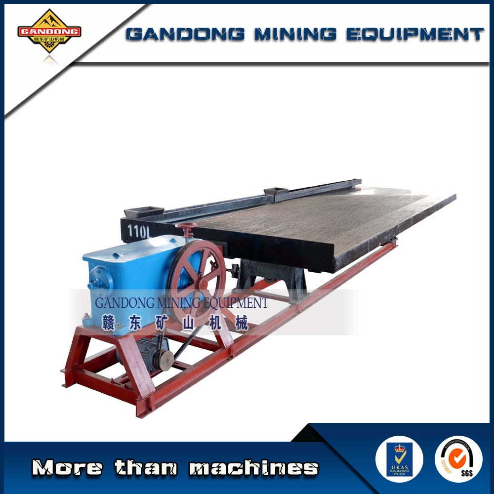 Good price wilfley table for mineral separation