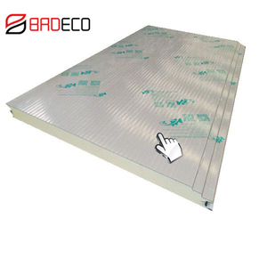 Adjustable Length Removable Durable Frierpoof PU Sandwich Wall Panel