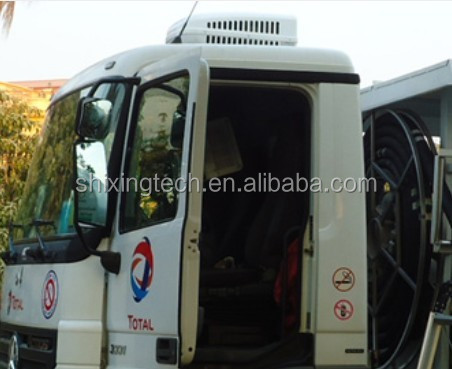 DC powered truck sleeper air conditioner 2000w for cooling truck,tractor,tralier,24 volt dc