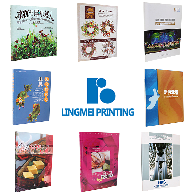 China professional factory hardcover coloring book softcover book printing services