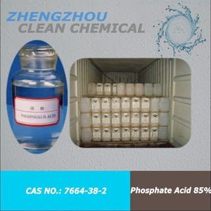 Phosphoric acid for rust removal