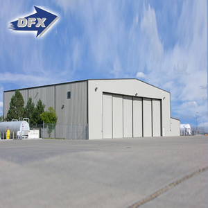 High Quality Steel Structure Modular Cheap Prefab Aircraft Hangar