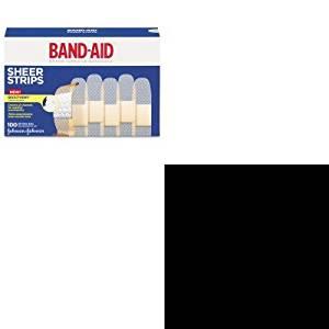 KITJOJ4634JOJ512376900 - Value Kit - Band-aid Sheer Adhesive Bandages (JOJ4634) and Neosporin Antibiotic Ointment (JOJ512376900)