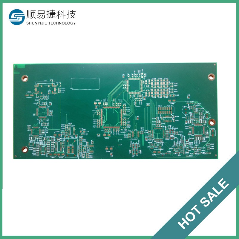 Hdi multilayer impedance electromyograph rigid pcb provider