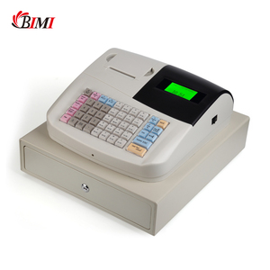 Electronic cash register android system 58mm 8 digits LED printer touch screen with cash drawer