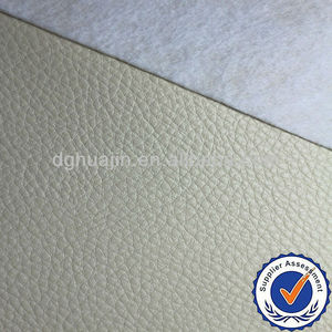 Composite cotton backing pvc leather for sofa