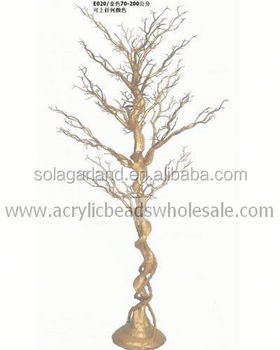 Whole Silver Color Artificial Dry Tree Weidding Decoration Wishing Without Leaves Indoor Party
