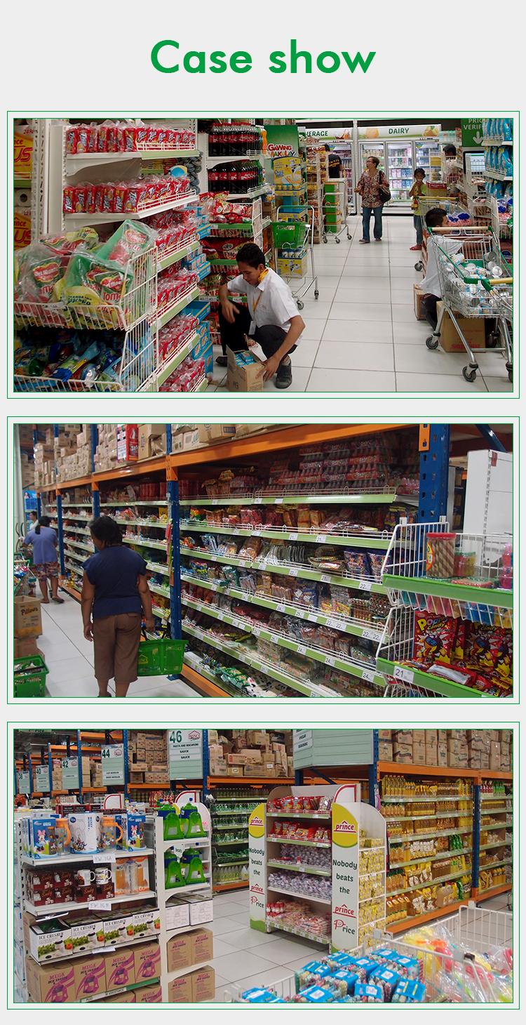 Asian-Style Durable Supermarket Shelf