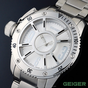 Swiss Made Brand Luxury Fashion Watches for Men Quartz Casual Stainless Steel Sapphire Crystal Water Resistant Austrian GEIGER