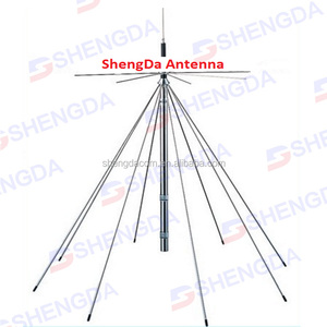 (25-1300 MHz) Tram Discone Broad Band Base Antenna