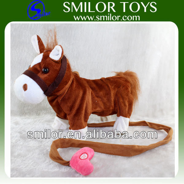 Wholesale Plush Walking Horse 2014 Hot Summer Toys