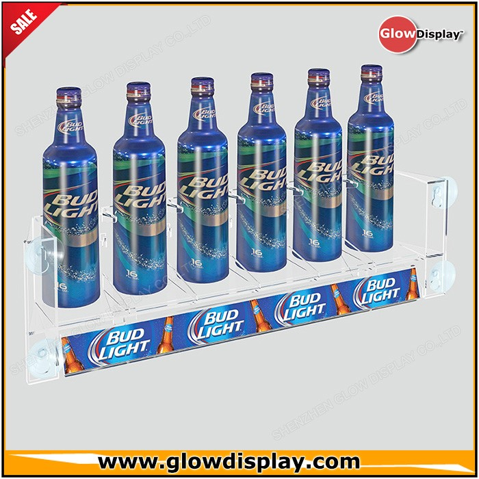 Food Exhibition Stand Design : Glowdisplay acrylic suction cups beverage candy food