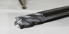 DEM Solid Carbide Rough Wave End Mill with Four Cutting Edges for blind hole
