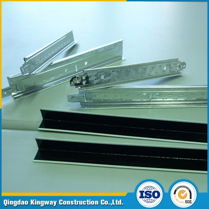 Hot Selling Suspension Ceiling T Grids Steel T-Bar