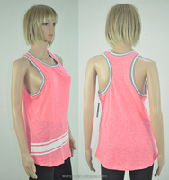 Women's printed fitness fabric tank top & jersey vest