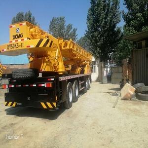 Used XCMG QY25K QY50K QY55K QY70K QY75K QY100K 25 ton 50 ton 55 ton 70 ton  75 ton 100 ton Truck Crane For Sale