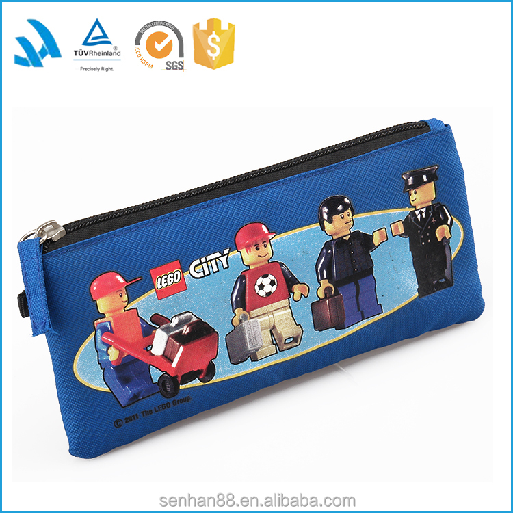 Alibaba china wholesale zipper lock pencil bag, pencil pouch, polyester pencil holder