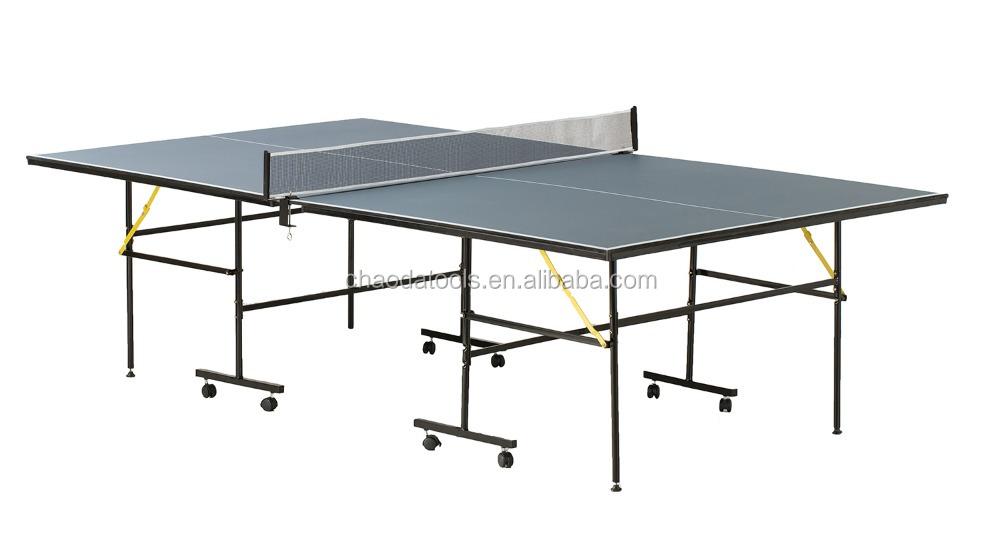 Pieghevole tavolo da ping pong tavoli ping pong id prodotto 60538252023 - Costruire tavolo ping pong pieghevole ...