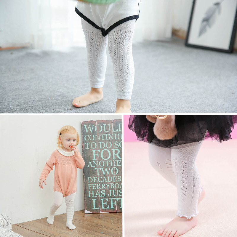 HT-SKL best selling hot wholesale children cotton leggings /tights knit tights baby tights