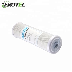 coconut shell cto carbon block filter / industrial activated carbon water filter cartridge price