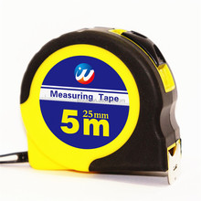 5m 16ft wholesale rubber coating steel measurent tape thickness blade printable heavy duty tape measure