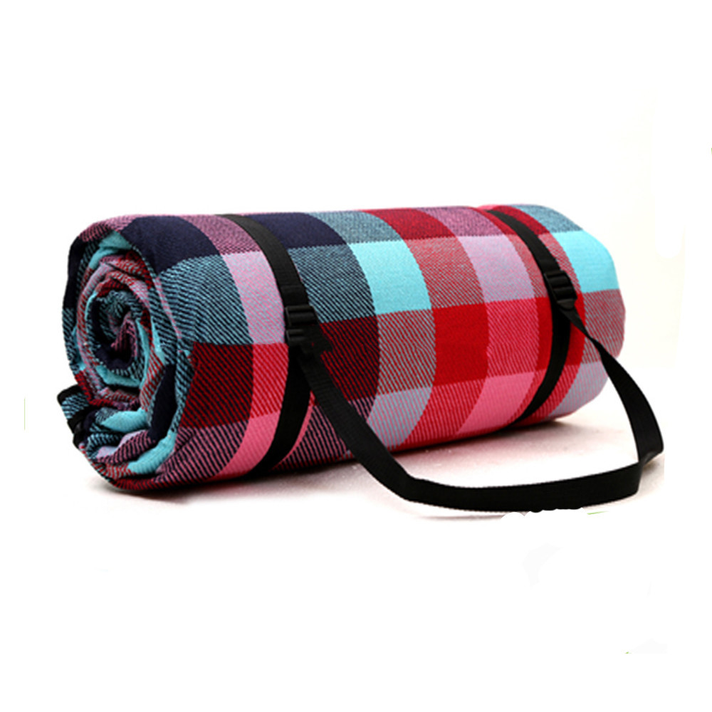 Customized Waterproof Cashmere Picnic Rug For Camping Traveling Best Design Blanket High Quality Folding Mat