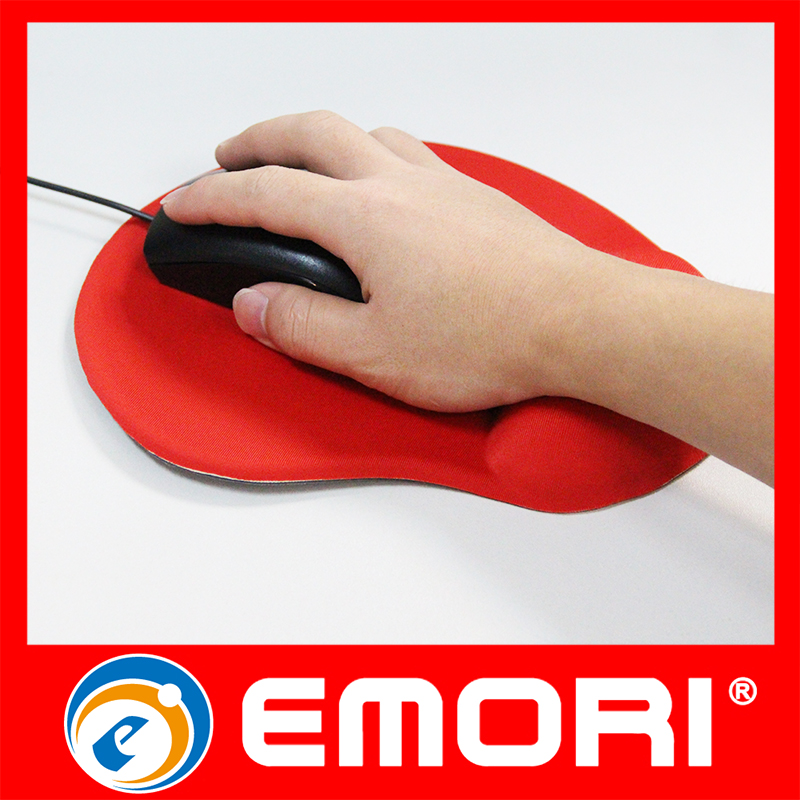 Brand Custom Silica Gel Wrist Rest Mouse Pad