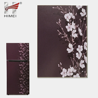 Flower grain galvanized color coated metal sheet for refrigerator door