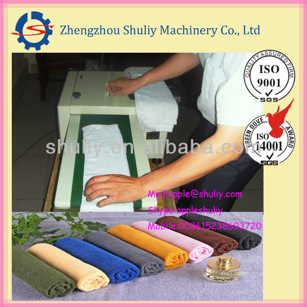 China Hot Sale Automatic Towel Roll Machine