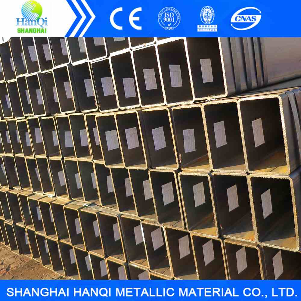 Square and Rectangle welded steel pipe from Tianjin