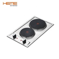 Asian cooking appliance 2 hotplate electric stove