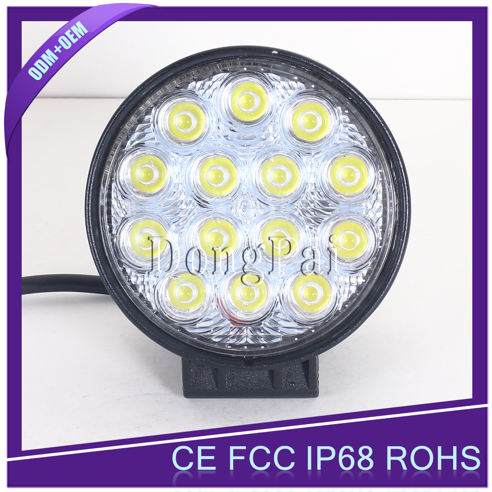 Hot-sale 7 inch 70w Led Truck 4wd Work Lights, Car Lights Led