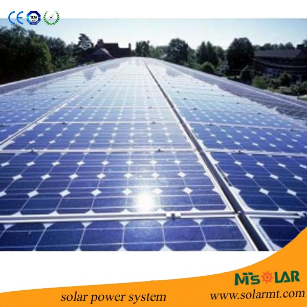 Eco-friendly Cost-effective on grid solar system with LCD display and DC/AC output