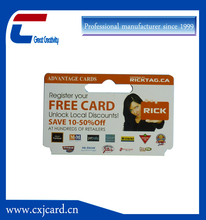 Active smart rfid card for people management