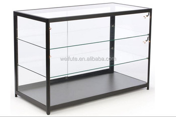 Wood Mobile Phone Display Cabinet Counter Gl