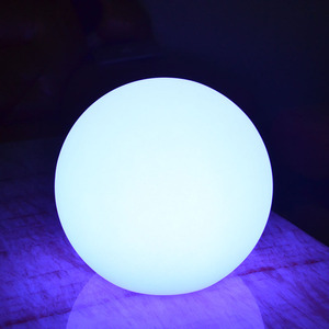 Plastic Multi Color Fairy Light Newly Design Glowing Pe Led Lighting Ball