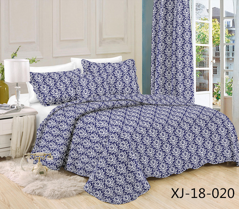 High end comfortable design single bed indian bedspreads and quilts