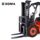 XGMA China Hot Sale Forklift Truck Diesel 3Ton 3.5Ton Lower Consumption with CE