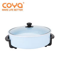 42X9CM Teflon coating electric frying pan with Adjustable Thermostat