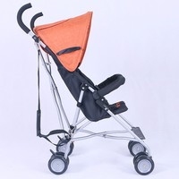 2017 New Design One Hand Open and Folding Baby Buggy Comfortable And Fashion Aluminum Alloy Mini Baby Stroller