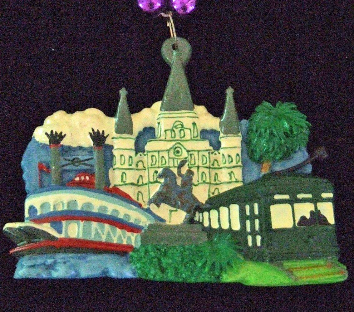 617501184d6 Buy New Orleans River Boat Mardi Gras Bead Necklace Spring Break ...