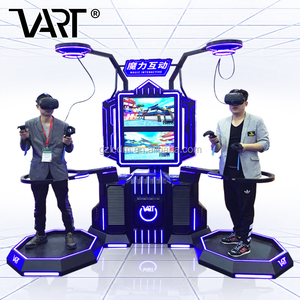 Gear Targeting 9D Vr Standing Platform with vr infinite space, ISO Factory China Playground Climbing